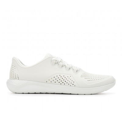 Adults' Crocs LiteRide Pacer Sneakers Almost White The Most Popular LAW4R8616