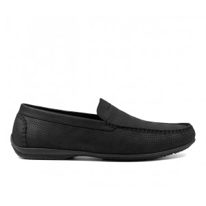 Men's Stacy Adams Cirrus Loafers Black Business Casual Popular 87HS96872
