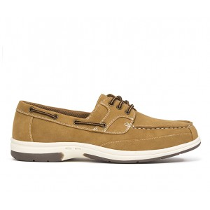 Men's Deer Stags Mitch Boat Shoes Light Tan Formal Trends 8WQHO2305