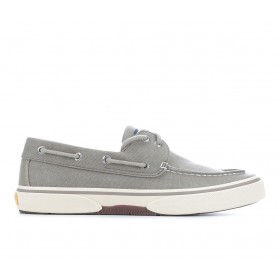 Men's Sperry Halyard 2 Eye Boat Shoes Washed Taupe MAU5O3220