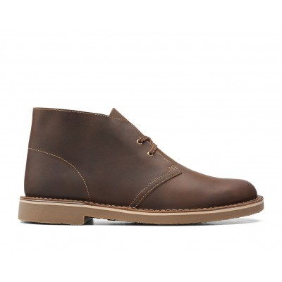 Men's Clarks Bushacre 3 Chukka Boots Beeswax Leather Formal new in 0Z8EV9272