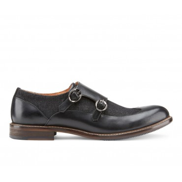 Men's Vintage Foundry Co. Luther Dress Shoes Black Going Out Clearance Sale 71WJN3136