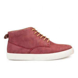 Men's Thomas & Vine Damon Sneaker Boots Red Going Out outlet JKWFD7615