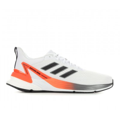 Men's Adidas Response Super 2.0 Primegreen Running Shoes Wht/Bk/SolarRed Going Out For Sale 3I90H7860