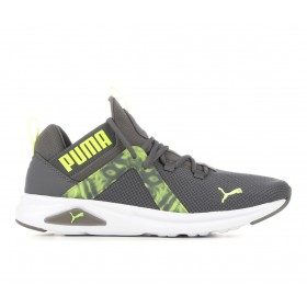 Men's Puma Enzo 2 Graphic Sneakers Grey/Volt Business Casual hot topic KMGBQ6092