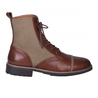 Men's Dingo Boot Andy Combat Boots Brown outfits 7OF3R7087