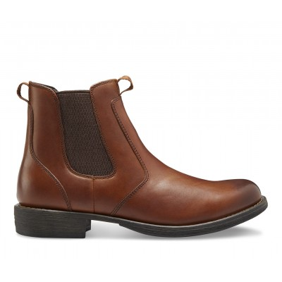 Men's Eastland Daily Double Chelsea Boots Tan Business Casual New H183V3804