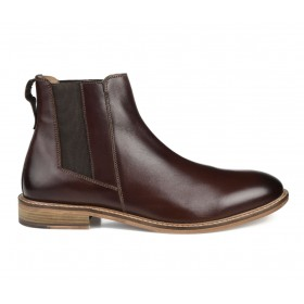 Men's Thomas & Vine Corbin Chelsea Boots Brown Going Out wholesale FNOES2375