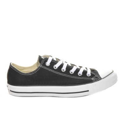 Adults' Converse Chuck Taylor All Star Canvas Ox Core Sneakers Black Business Casual Trend PIF887507