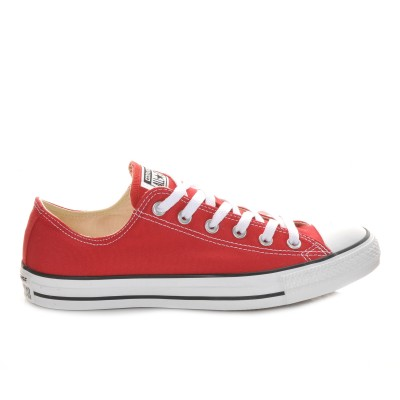 Adults' Converse Chuck Taylor All Star Canvas Ox Core Sneakers Red New Look FBC574013