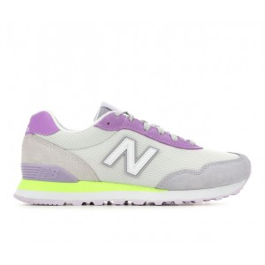 Women's New Balance WL515 V3 Sneakers Gry/Purp/Grn PYDQP9559
