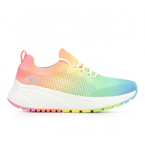 Women's Skechers 117050 BOBS Squad Sparrow 2 Sneakers Rainbow/White Going Out quality 1V6VV730