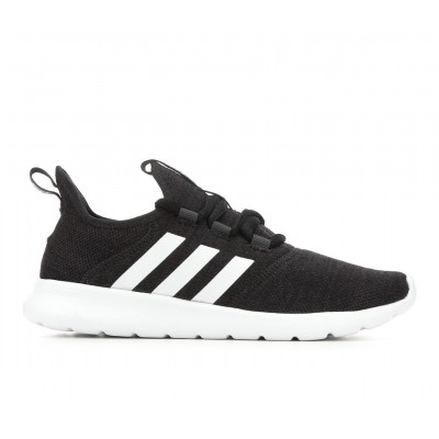 Women's Adidas Cloudfoam Pure 2.0 Primegreen Sneakers Black/White Formal Clearance CGGAL6673