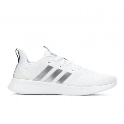 Women's Adidas Puremotion Sneakers White/Silver Going Out 2021 QNLEQ8018