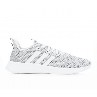 Women's Adidas Puremotion Sneakers White/White/Blk Business Casual Boutique KYK8U7740