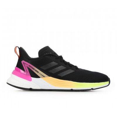 Women's Adidas Response Super Running Shoes Blk/Pink/Org Business Casual MS84S2772