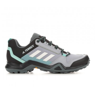 Women's Adidas Terrex AX3 Trail Running Shoes Silver/Wht/Mint Going Out Lowest Price QXF7J3025