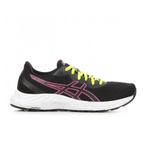 Women's ASICS Gel Excite 8 Running Shoes Black/Pink/Yell Formal good quality 3LHAL9931