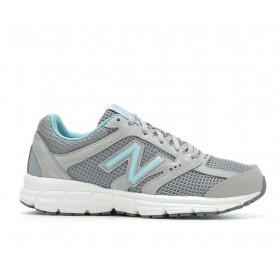 Women's New Balance W460V2 Running Shoes Grey/Turquoise Going Out Selling Well JV6EM2430