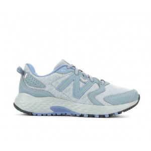 Women's New Balance WT410V7 Trail Running Shoes Grey/Blue/Pink Going Out Designer Sale S6LYN2607