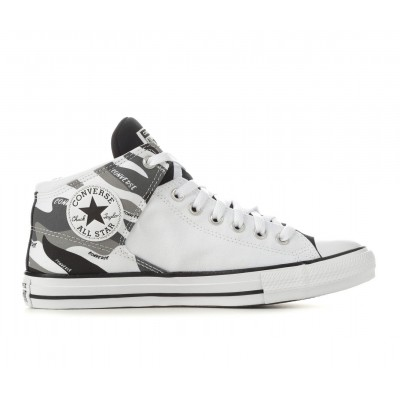 Men's Converse CTAS High Street Camo High-Top Sneakers Wht/Dolphin/Blk Going Out boutique ZJHB16931