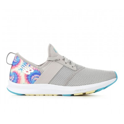 Women's New Balance FuelCore Nergize Training Shoes Grey/Tie Dye Going Out for sale near me YAVZ15518