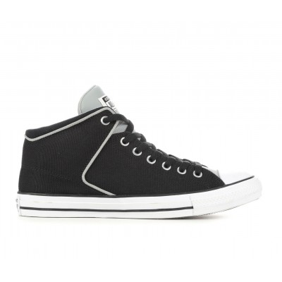 Adults' Converse Chuck Taylor All Star High Street High Top Sneakers Black/Ash/White Business Casual TT0J01024