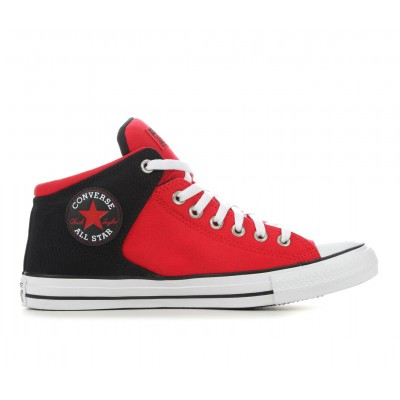 Adults' Converse Chuck Taylor All Star High Street High Top Sneakers Red/Black/White Going Out online shopping 37P064266