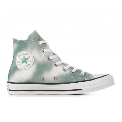 Women's Converse Chuck Taylor All Star Cloudwash High-Top Sneakers Sage/White Going Out 2021 Trends RQ8V94933