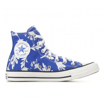 Women's Converse Chuck Taylor All Star Floral Hi Sneakers Blu/Wht Floral Going Out In Sale 3MN1Y8679