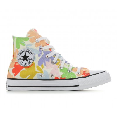 Women's Converse Chuck Taylor All Star Garden Party High-Top Sneakers Floral Print Going Out At Target NGRBJ5117