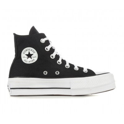 Women's Converse Chuck Taylor All Star Lift High Top Platform Sneakers Black/White Going Out 2021 Trends 49DH98863