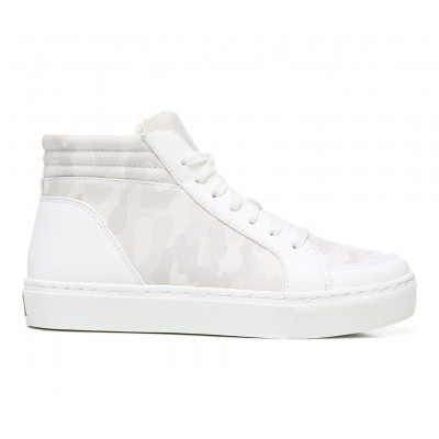 Women's Dr. Scholls No Prob Sneaker Boots White Camo Business Casual V4WC89923
