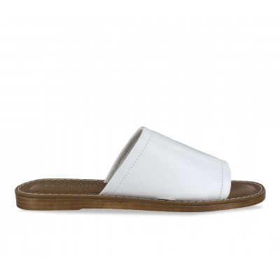 Women's Bella Vita Ros-Italy Sandals White Leather Formal DP4YH7950