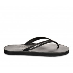 Women's Rainbow Sandals Leather w/ Swarovski Crystals -401ALTSN Flip-Flops Classic Black Going Out outfits 3NWY54734