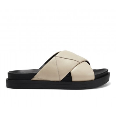 Women's Aerosoles Linney Platform Footbed Sandals Bone Leather Going Out outfits RHB373833