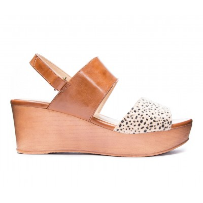 Women's CL By Laundry Christel Wedges Nude/Camel Formal In Sale RMDRD762