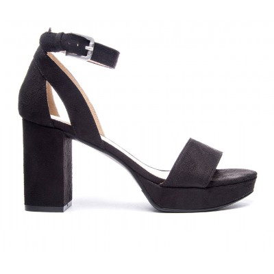 Women's CL By Laundry Go On Platform Dress Sandals Black Going Out Business Casual 7AGKU8418