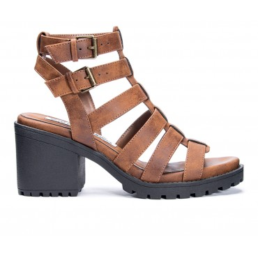 Women's Dirty Laundry Fun Stuff Heeled Sandals Whiskey Business Casual Ships Free EHZGH3184