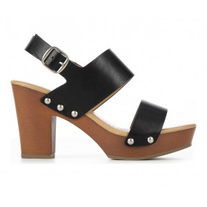 Women's Y-Not Abyss Dress Sandals Black lifestyle 3ZG891856