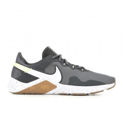 Men's Nike Legend Essential 2 Training Shoes Grey/White/Lime Going Out sale online J38JT3431
