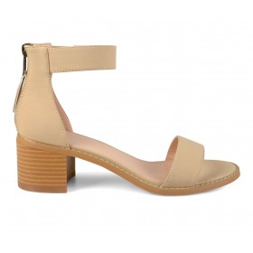 Women's Journee Collection Percy Dress Sandals Nude Going Out In Sale O9C955957