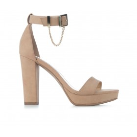 Women's Delicious Finding Dress Sandals Dark Nude Nub Going Out 0TCU37971