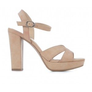Women's Y-Not Count Dress Sandals Dk Nude Smooth Formal EHR7F7135