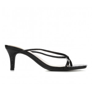 Women's Y-Not Icon Dress Sandals Black Croco Going Out wholesale WY0EO1504