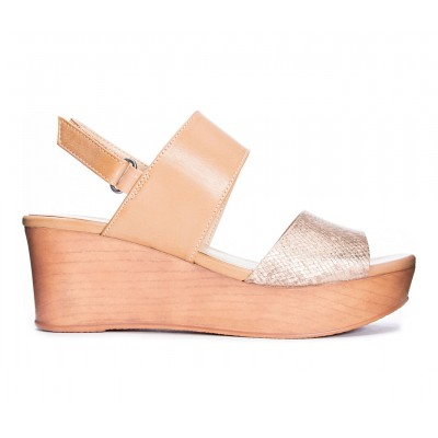Women's CL By Laundry Christel Wedges Rose Gold/Nude A7HQ41015