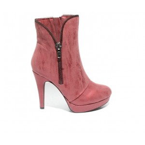 Women's 2 LIPS TOO Too Shadie Stiletto Booties Red Going Out The Best Brand 6S4F97539