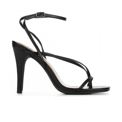 Women's Delicious Miya Dress Sandals Black Going Out ARQ4G414