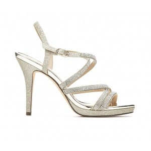Women's Touch Of Nina Rami Special Occasion Shoes Platino A44D31071
