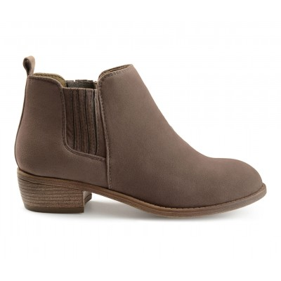 Women's Journee Collection Ramsey Chelsea Boots Grey Going Out shopping 8WU18921
